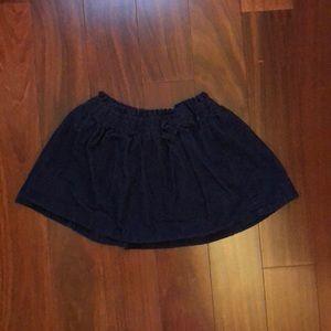 Gymboree Corduroy Skirt. Size 4T